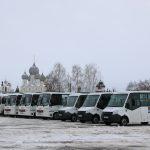 В Ростове на линию вышли десять новых автобусов