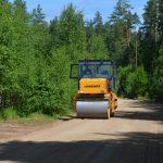 Ремонт дороги в Остеево завершен