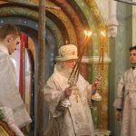 Митрополит Пантелеимон совершил литургию в Авраамиевом Богоявленском монастыре